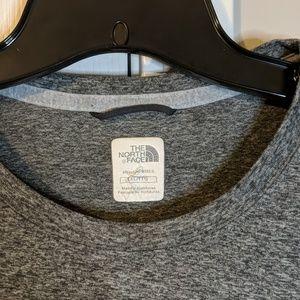 The North Face XXL Gray tshirt